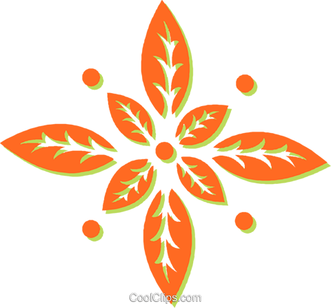 leaves Royalty Free Vector Clip Art illustration vc031041