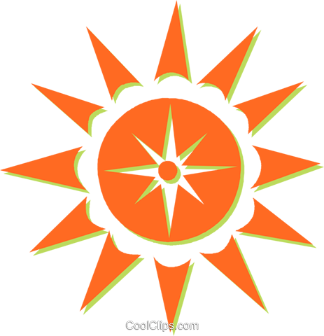 sun Royalty Free Vector Clip Art illustration vc031096