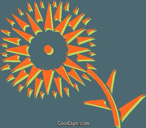 Fleur du soleil vecteurs de stock et clip art vectoriel vc031099 - Fleur du soleil ...