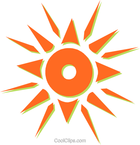 sun Royalty Free Vector Clip Art illustration vc031100