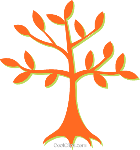 tree Royalty Free Vector Clip Art illustration vc031139