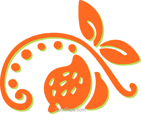 decorative floral elements Royalty Free Vector Clip Art illustration vc031400