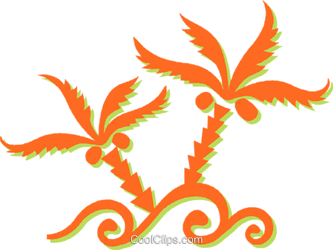 weeds Royalty Free Vector Clip Art illustration vc031433