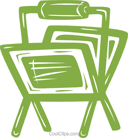 newspaper racks Royalty Free Vector Clip Art illustration vc031456