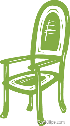 chairs Royalty Free Vector Clip Art illustration vc031459