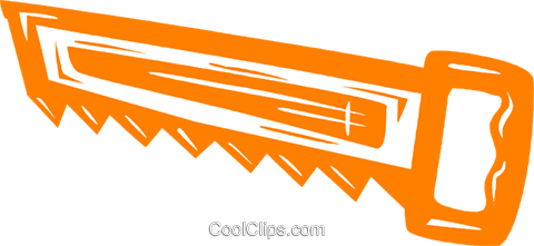 handsaws Royalty Free Vector Clip Art illustration vc031509