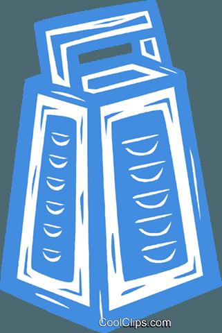 奶酪刨丝器 免版税矢量剪贴画插图