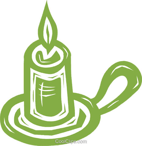 candles Royalty Free Vector Clip Art illustration vc031531