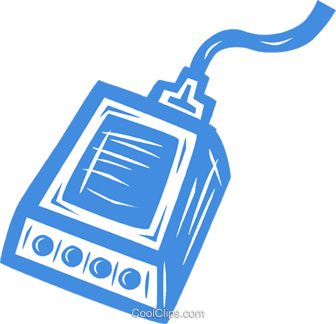 test equipment Royalty Free Vector Clip Art illustration vc031598