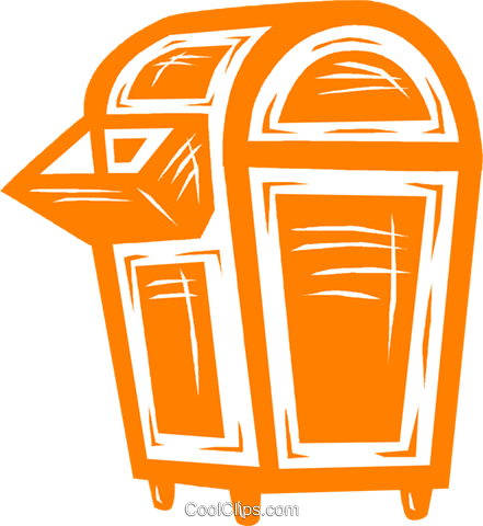 mail box Royalty Free Vector Clip Art illustration vc031677