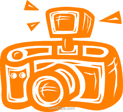 camera Royalty Free Vector Clip Art illustration vc031710