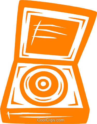 record player Royalty Free Vector Clip Art illustration vc031773