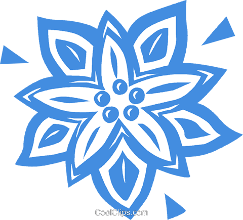 poinsettia Royalty Free Vector Clip Art illustration vc031826