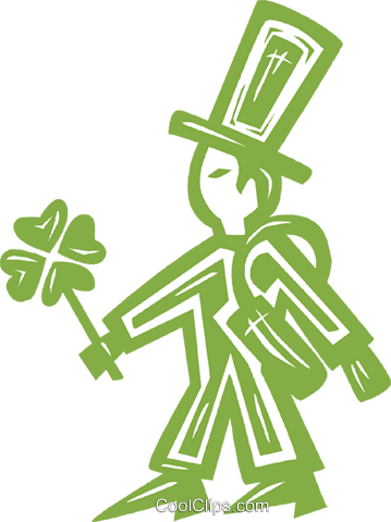 St. Patrick's Day Royalty Free Vector Clip Art illustration vc031879