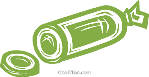 cold cuts Royalty Free Vector Clip Art illustration vc031924