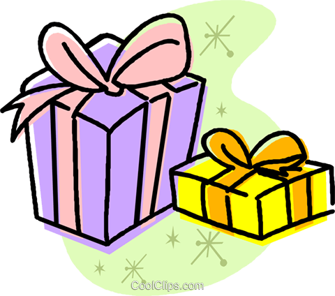 presents Royalty Free Vector Clip Art illustration vc032010
