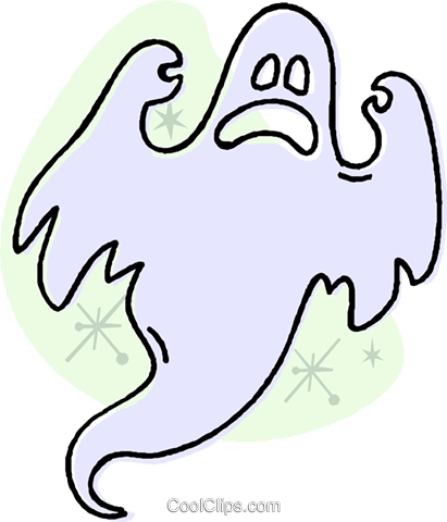 ghost Royalty Free Vector Clip Art illustration vc032023