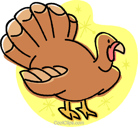 turkey Royalty Free Vector Clip Art illustration vc032028