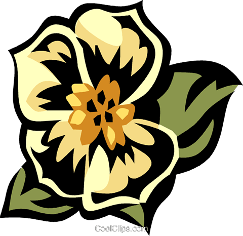 morning glory Royalty Free Vector Clip Art illustration vc032104