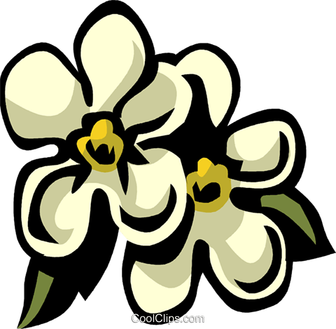 forget-me-nots Royalty Free Vector Clip Art illustration vc032105