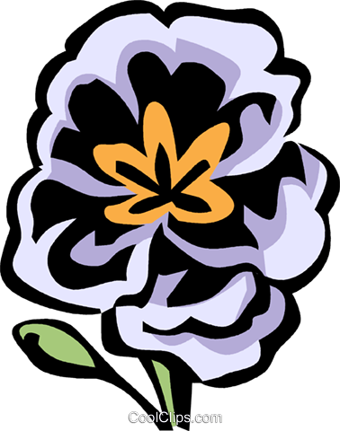 Primrose Royalty Free Vector Clip Art illustration vc032123