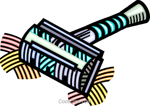 safety razor Royalty Free Vector Clip Art illustration vc032231