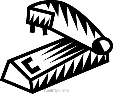 stapler Royalty Free Vector Clip Art illustration vc032295