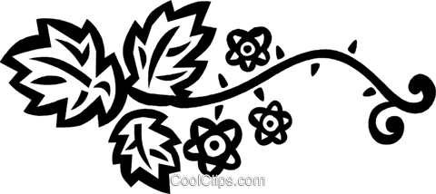 floral designs Royalty Free Vector Clip Art illustration vc032573