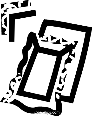 picture frames Royalty Free Vector Clip Art illustration vc032768