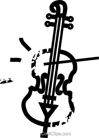 cello Royalty Free Vector Clip Art illustration vc032853