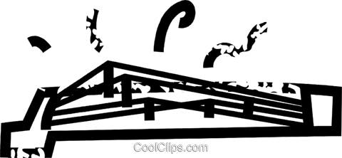 stringed instrument Royalty Free Vector Clip Art illustration vc032861