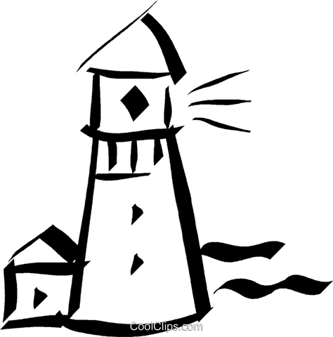 lighthouse Royalty Free Vector Clip Art illustration vc032893