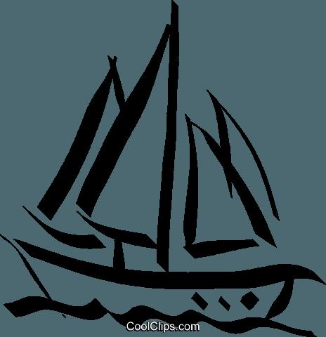 Segelboot Vektor Clipart Bild -vc032896-CoolCLIPS.com