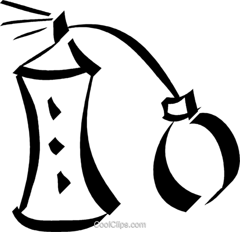 perfume Royalty Free Vector Clip Art illustration vc032972