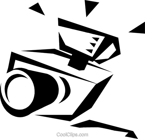camera Royalty Free Vector Clip Art illustration vc033150