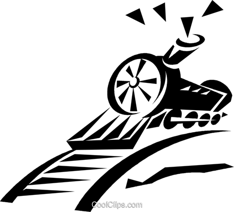 train Royalty Free Vector Clip Art illustration vc033290