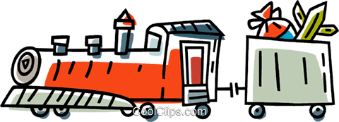 trains Royalty Free Vector Clip Art illustration vc033426