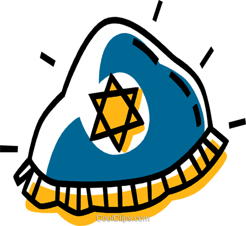 Judaism Royalty Free Vector Clip Art illustration vc033508