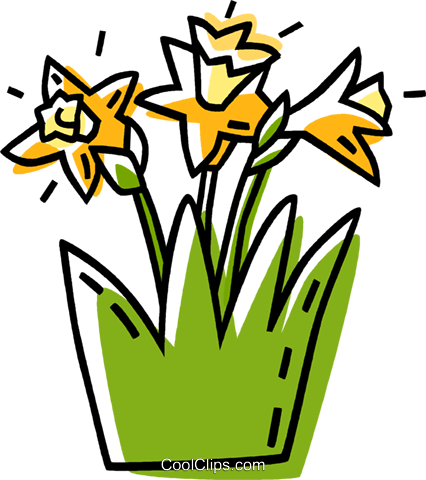 flowers Royalty Free Vector Clip Art illustration vc033520