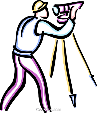 surveyors Royalty Free Vector Clip Art illustration vc033633