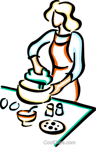 chef Royalty Free Vector Clip Art illustration vc033645