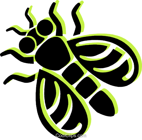 fly Royalty Free Vector Clip Art illustration vc033873