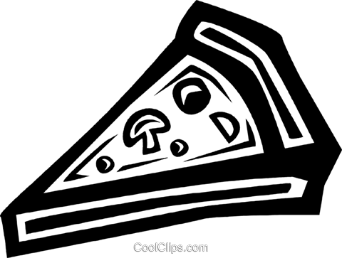 pizza Royalty Free Vector Clip Art illustration vc034109
