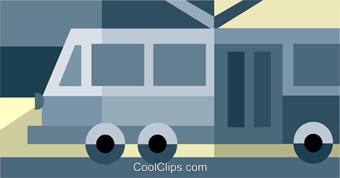 streetcar Royalty Free Vector Clip Art illustration vc034344