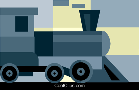 Train Motor Vektor Clipart Bild vc034367