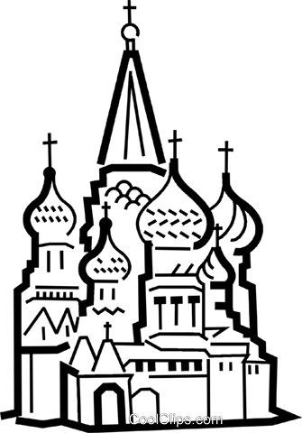 Churches Royalty Free Vector Clip Art illustration vc034455
