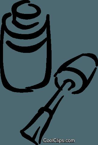 vernis 224 ongles vecteurs de stock et clipart vectoriel