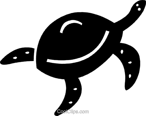 turtle Royalty Free Vector Clip Art illustration vc036083