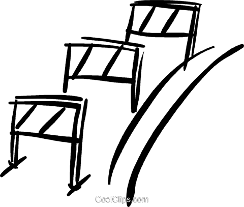 Hurdles Royalty Free Vector Clip Art illustration vc037025