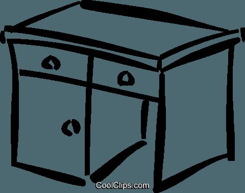 Schreibtisch clipart  Schreibtisch Vektor Clipart Bild -vc037093-CoolCLIPS.com